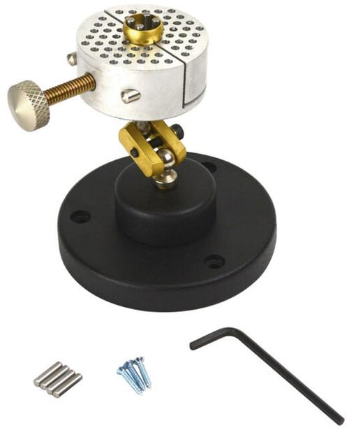 Universal Work Holder Peg Clamp on Base Jewelers Engravers Revolving Bench Tool