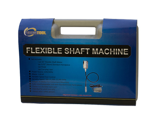 Flexshaft Motor Hanging Flexible Shaft Machine Kit 1/4hp 110v Jewelry & Woodwork