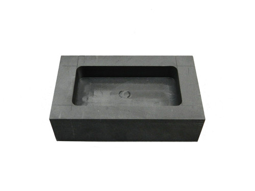 Graphite Ingot Mold 8 T.oz Silver Bars Melt and Pour to Form Flat Ingots