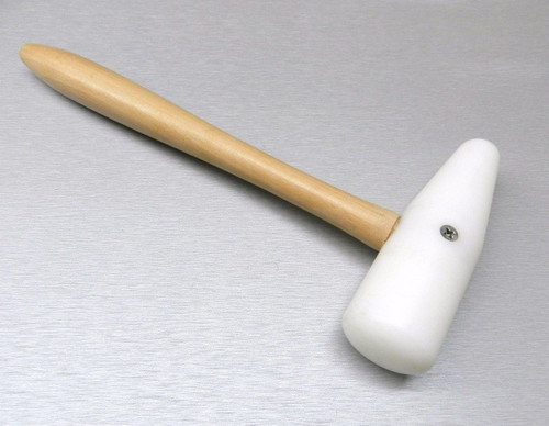 """Nylon Hammer 5"""" Plastic Mallet Dome Shape Forming Dapping Jewelry Making Tool"""