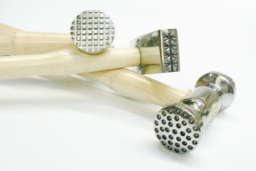 Texturing Hammer Set of 3 Jewelry Making and Design 6 Patterns