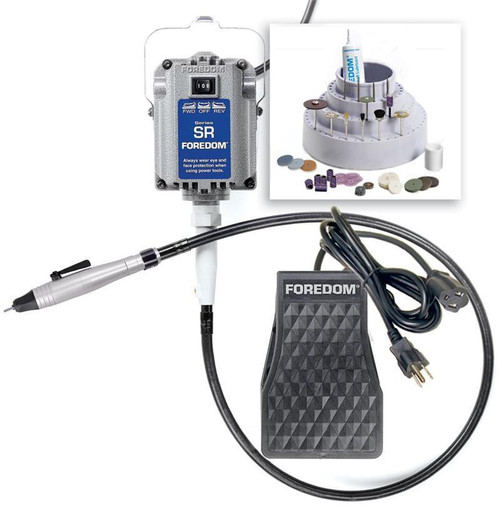 Foredom K.2220 Jewelers Kit with Quick Change Handpiece 110 Volt