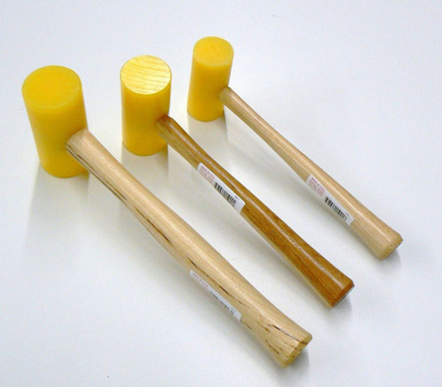 Plastic Mallets Non Marring Garland USA Set-3 Sizes