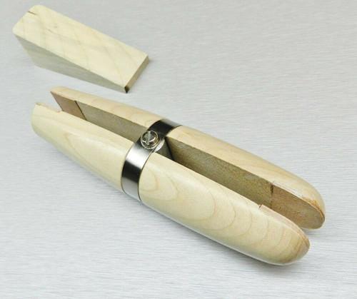 Jewelers Ring Clamp Jewelry Making Hand Tool Stone Setting Maple Hardwood Holder