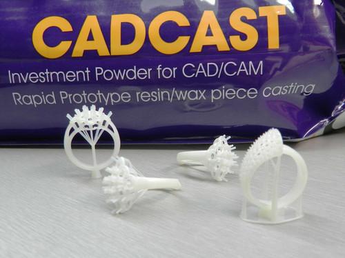 Resin Wax Casting Investment Powder Cad/Cam Rapid Prototype Model CadCast 22.7kg