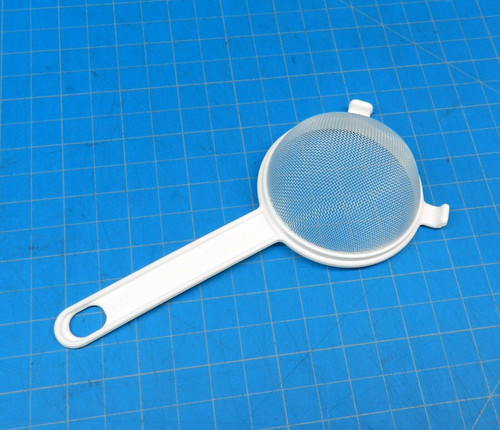 All Plastic Strainer Kitchen Cooking Culinary Sieve Nylon Polyester Mesh 2-1/2""