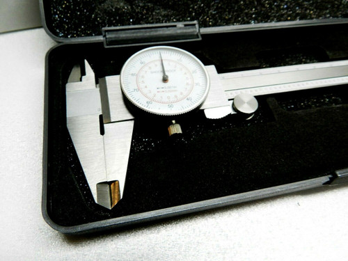 "iGaging Dial Caliper 6"" / 150mm Dual Scale Reading"