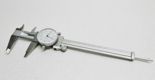 """iGaging Dial Caliper 6"""" / 150mm Dual Scale Reading in Metric mm & SAE inches"""
