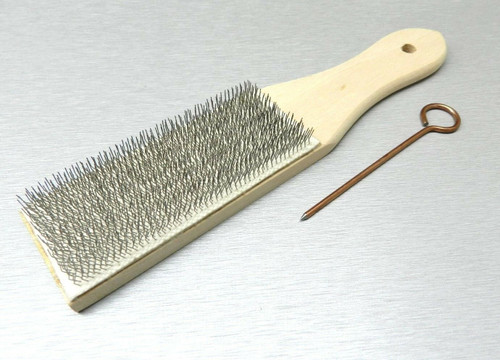 File Card Brush Cleaner & Pick Clean Files Remove Collected Filings Lutz #10 USA
