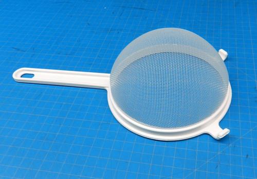 "Plastic Strainer Kitchen Cooking Nylon Polyester Mesh 100% Plastic 6-1/2"" Swiss"