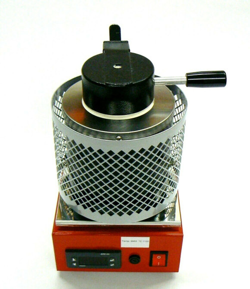 Electric Melting Furnace Digital Melter Melting 1/2Kg Made in Italy