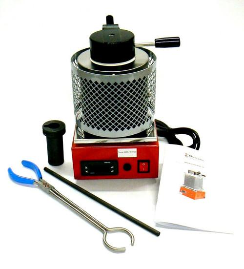 Electric Melting Furnace Digital Melter Melting 1/2Kg Made in Italy