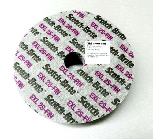 "3M Scotch-Brite EXL 2S-FIN Unitized Wheels 6x1x1"" Deburring Surface Conditioning"