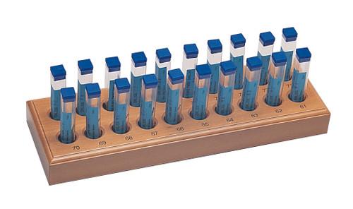 High-Speed Steel Twist Drills Assortment Set Of 200 Drills