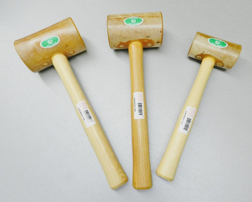Rawhide leather work Mallets  Set