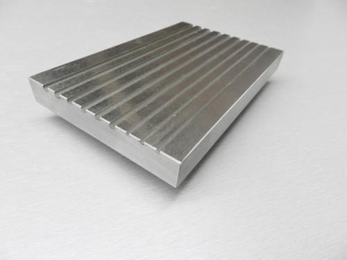 """6"""" X 4"""" Steel Swage Grooved Steel Block"""