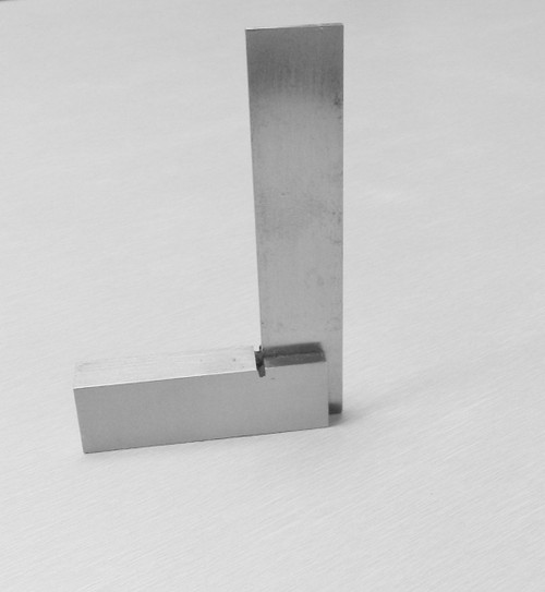 """3"""" Machinist Squares 90º Right Angle Steel Measure & Layout Hobby Model Projects"""