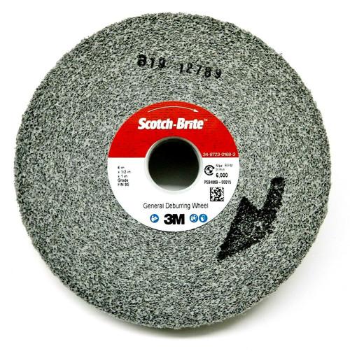 3M Deburring Wheel General Purpose Wheel 6x1/2 9S-FIN # 64899 Cleaning Finishing