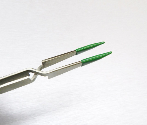 "4-3/4"" PVC Cross Locking Tip Tweezers"