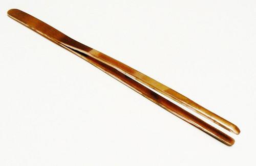 Heavy-Duty Serrated-Jaw Straight Copper Tweezers