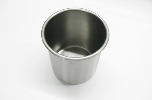 Beaker Stainless Steel Pot 1-1/4 Qt Bain Marie Plating Stainless Steel Pot
