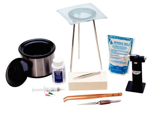 Basic Soldering Kit with Pickle Pot | KIT-200.10