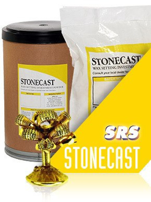 Jewelry Casting Investment Powder for Stone in Place Lost Wax Stone-Cast 5 Lb