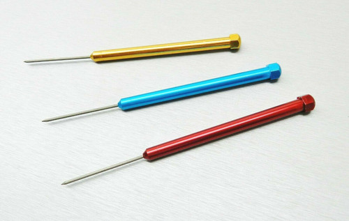 Set 3 Soldering Picks Titanium Tip Non-Sticking Solder Gold Silver Jewelry Tools