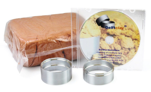 Delft Clay Casting Sand Kit with Ring and DVD