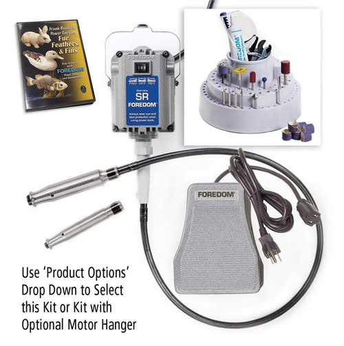 Foredom K.5200 Deluxe Woodcarving Kit, 2 Handpieces