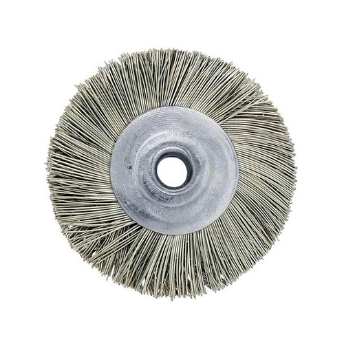"3/4"" Unmounted Steel Brush Straight 1/8"" Hole"