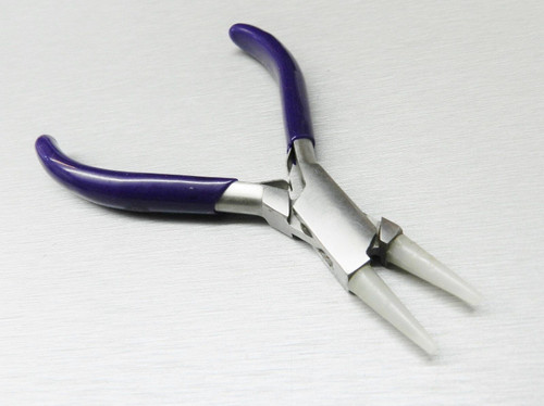 Pliers Round Nose Nylon Jaw Forming Bead Wire Work Pliers Bending Tool Jewelry