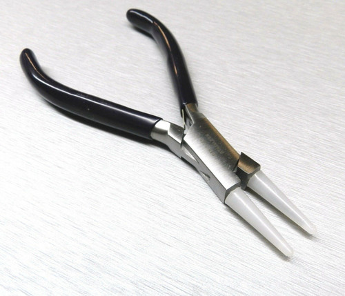"""Round Nose Pliers Nylon Jaw 5-3/4"""" Jewelry Bead Wire Working Forming Wrapping HD"""