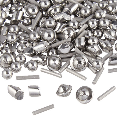Jewelers Mix Tumbling Shot Stainless Steel Tumbler Media Burnishing 4 Shapes 1 Lb.