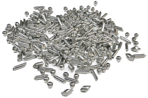 Tumbling Shot Mix Stainless Steel Eclipse / Pins / Diagonals Tumbler Media 1 Lb