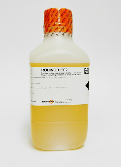 202  Rhodium Plating Solution