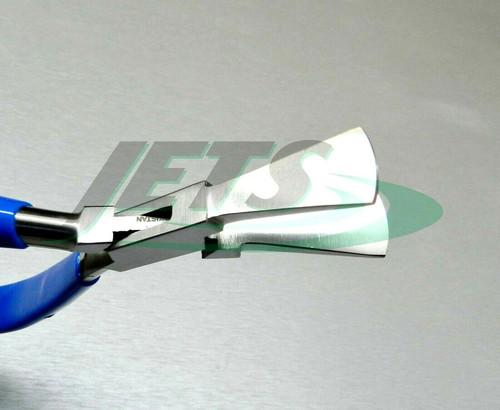 "Duck Bill Pliers Jewelry Making Metalsmith Tool Wide Billed Jaw Plier 6-1/2"" L"