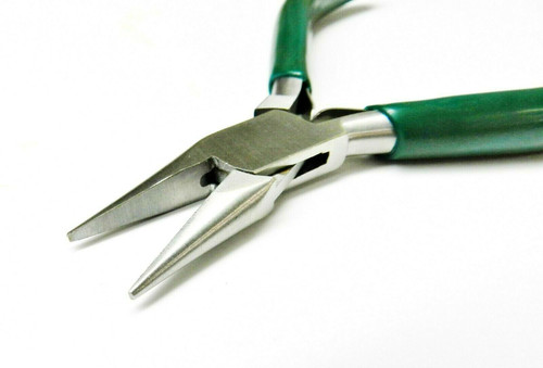 """Chain Nose Pliers Jewelry Making 5"""" Plier Beading Wire Wrapping Hobby Craft Work"""
