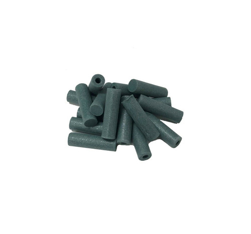 """Pacific Abrasives Cylinder Polisher 7/8"""" Green Extra-Fine Silicone Pack of 10 Made in Italy"""