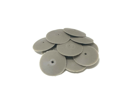 """Jewelry Silicone Polisher 7/8"""" Silipum Knife Edges Polishers Pacific Abrasives Pack of 10"""