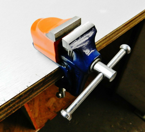 Mini Bench Vise With Clamp for Workbench