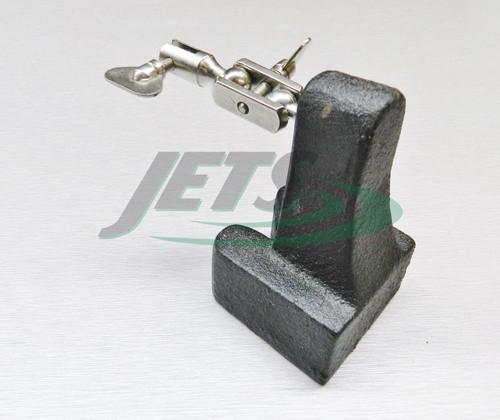 Third Hand Base Horseshoe Jewelers Soldering Tweezer Tool Holder 1.5Lb. 3rd Hand