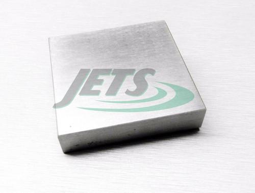 "Steel Bench Block 2 x 2 x 7/16"" Flattening Hammering Anvil Jewelry Making Tool"