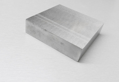 "Steel Bench Block 2-1/2 x 2-1/2"" x 7/8"" Flattening Hammering Jewelry Making Tool"