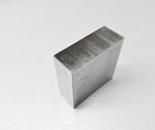 "Steel Bench Block 2-1/2 x 2-1/2 x 1"" Flattening Hammering Anvil Jewelry Making Tool"