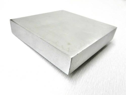 """4x4 Steel Bench Block Jewelers Steel Block Metal Working Anvil 4"""" x 4"""" x 3/4"""""""