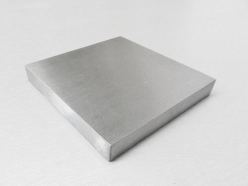 "Steel Block 6x6x3/4"" Jewelers Bench Block Dapping Flattening Work Forming Anvil"