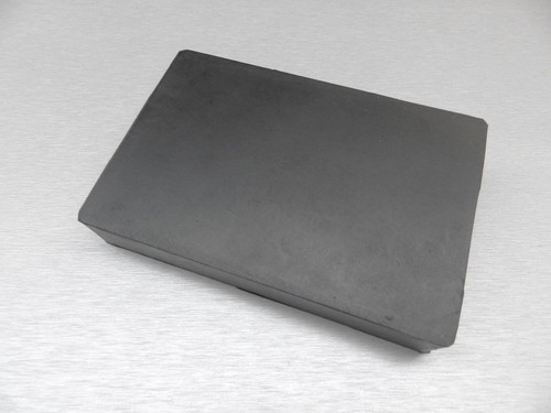 """Rubber Block Bench 4"""" x 6"""" Square 1"""" Thick Base for Steel Block Dapping"""