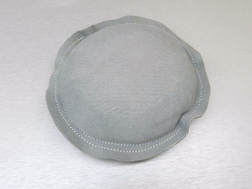 """Leather Sand Bag 7"""" Round Pad Jewelry Dapping Chasing and Forming"""