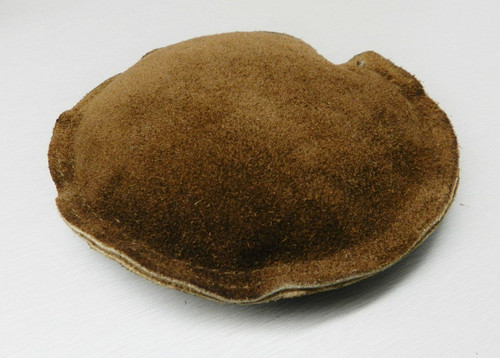 "Round Leather Sand Bag 5"" Jewelry Dapping Forming Chasing Bench Anvil Block Base"